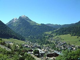 A general view of Morzine