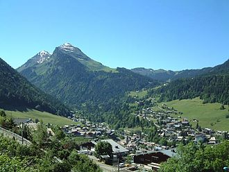 Morzine - A general view of Morzine