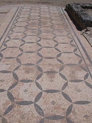 Clunia - Mosaic at Clunia.