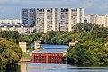 Moscow Nagatinsky Zaton canal locks 08-2016.jpg