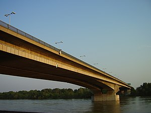 Lafranconi Bridge - Lafranconi Bridge from the northwestern side