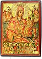 Mother of God Pantonhara - Joy to All - Dich Zograf 1844 Jovan Kaneo Church Ohrid.jpg