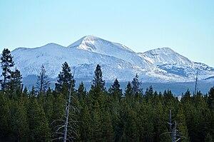 Trilobite Point - Image: Mount Holmes YNP2010