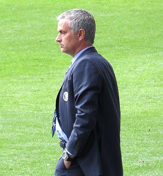 UEFA Team of the Year - Image: Mourinho aug 2014