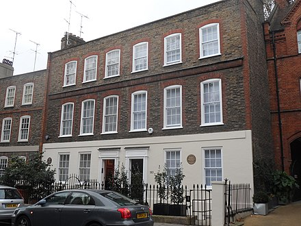 180 Ebury Street, Pimlico, where the Mozarts stayed in the summer of 1765 Mozart - 180 Ebury Street Belgravia SW1W 8UP.JPG