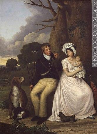 William McGillivray - William and Magdalen (McDonald) McGillivray, 1806, by William Berczy