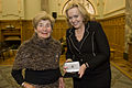 Mrs Verna Duff receives Medal from Minister Judith Collins - Flickr - NZ Defence Force.jpg