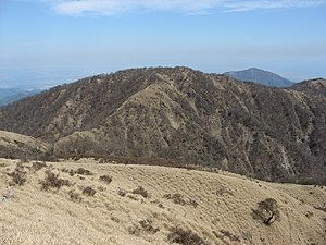 Mount Tanzawa - View from Mount Fudō