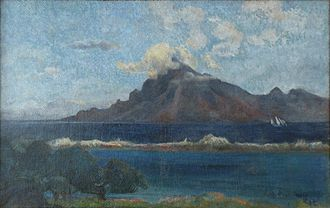 Museum of modern art André Malraux - MuMa - Image: Mu MA Gauguin Paysage de Te Vaa