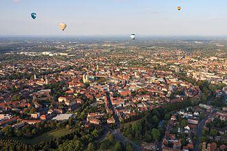 Münster - Aerial view of Münster