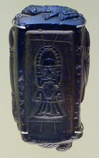 Tunjo - Tunjo mold in the Museo del Oro