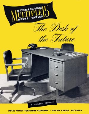 Steelcase - Multiple 15 desk