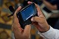 Mumbai Cellphone user November 2011 -5-5 Closeup.jpg