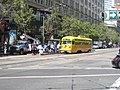 Muni 1052 at Market and Stockton, July 2005.jpg