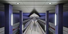 Munich subway station Hasenbergl 1.JPG