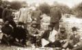 Mustafa Kemal, Hilâl-i Ahmer (Kızılay) heyeti ile, Trablusgarp, 1912.png