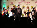Mystery Men skit at WonderCon 2010 Masquerade 2.JPG