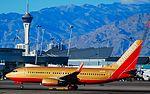 N711HK Southwest Airlines 1998 Boeing 737-7H4 (cn 27845-38) The Herbert D. Kelleher (4183807143).jpg