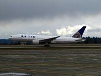 N796UA - B772 - United Airlines