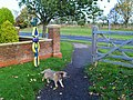 NCN Millennium Milepost MP1113 Burniston North Yorkshire.jpeg