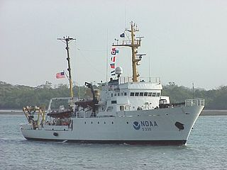NOAAS <i>McArthur</i> (S 330) McArthur-class hydrographic survey ship