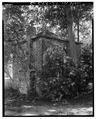 NORTH (left) AND WEST SIDES - William Blacklock Gazebo, 18 Bull Street, Charleston, Charleston County, SC HABS SC,10-CHAR,130C-3.tif
