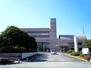Naka, Ibaraki - Naka city hall