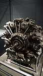 Nakajima type Ha-45 Homare engine left front view at Modern Transportation Museum March 23, 2014.jpg