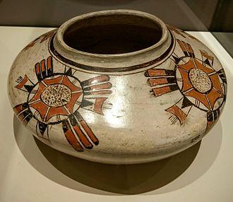 Nampeyo - A seed jar made by Nampeyo approximately 1905