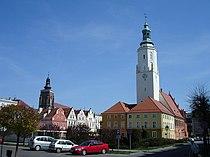 Namysłów main square.jpg