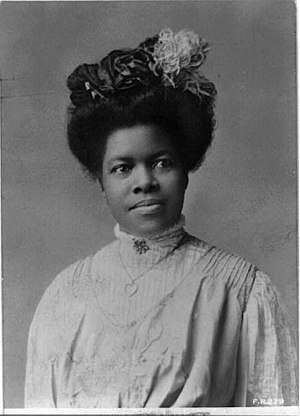 Nannie Helen Burroughs - Nannie Helen Burroughs, by Rotograph Co., New York City, 1909