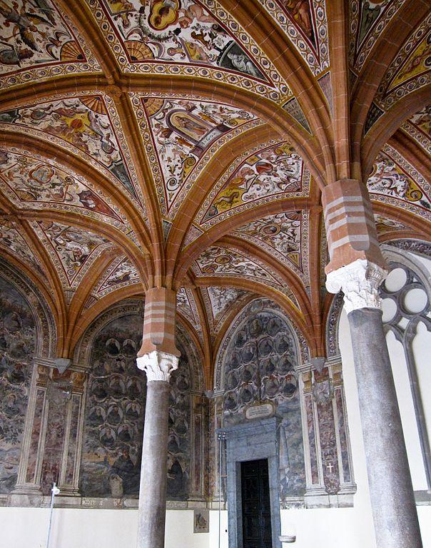 Sala Capitolare dans le complexe de San Lorenzo Maggiore à Naples - Photo d'Armando Mancini