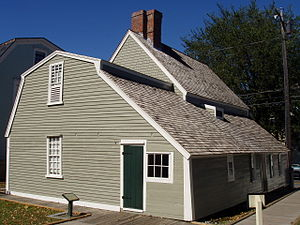 Salem Maritime National Historic Site - Image: Narbonne House Salem, Massachusetts