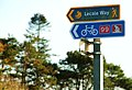 National Cycle Network sign near Strangford - geograph.org.uk - 1562910.jpg