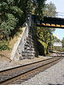 National Docks Secondary crossing under Passaic&Harrsimus Line at end of Bergen Hill Cut.jpg