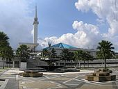 170px National Mosque KL 2007 pano About Islam