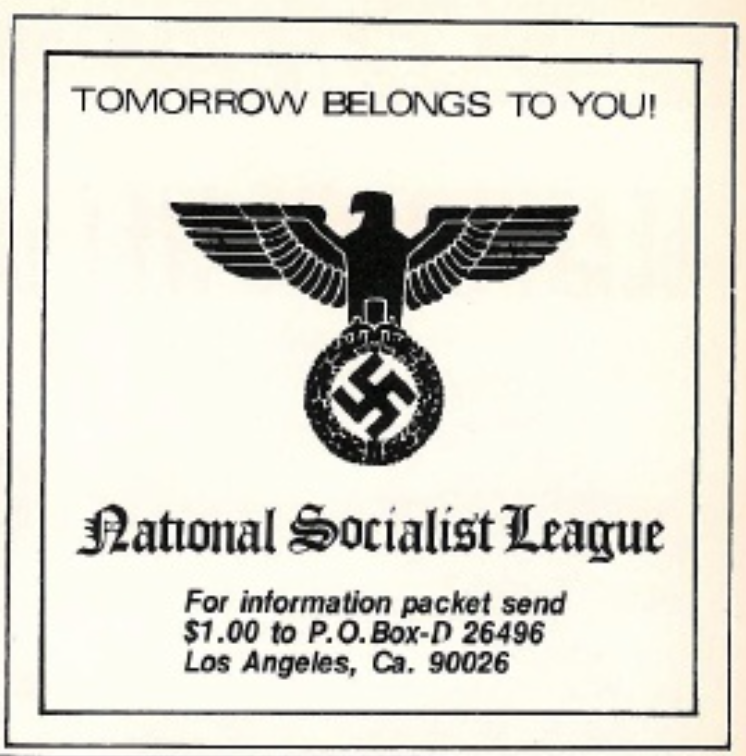 National Socialist League 1975
