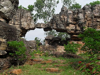Geological Survey of India -  Tirumala Natural Geological Arch is a National Geo-heritage Monument Site of India.