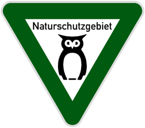 Naturschutzgebiet - Image: Naturschutzgebiet Niedersachsen