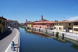 Navigli di Milano Naviglio Grande a Gaggiano01.jpg
