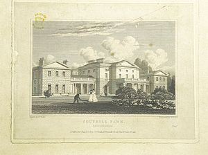 Southill Park - Southill Park in 1824