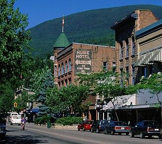 Nelson, British Columbia - Historic Baker Street