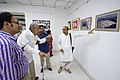 Nemai Ghosh Accompanied By Biswatosh Sengupta Visiting 1st Four Ps Group Exhibition - Kolkata 2019-04-17 5253.JPG