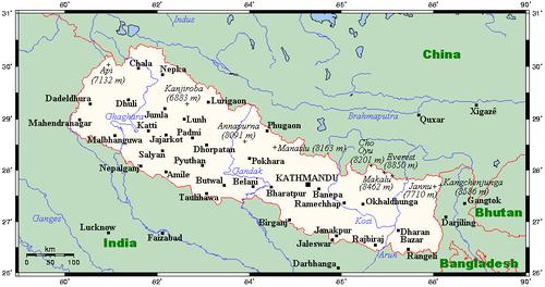 Geography of Nepal Wikipedia