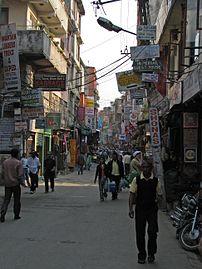 Nepal - Kathmandu - 001 - streets of Thamel.jpg