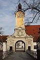 Neues Schloss (Ingolstadt) Zugang von Fußgängerzone.JPG