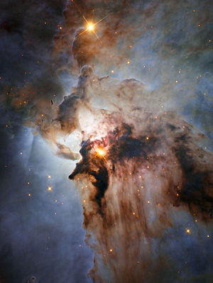 Lagoon Nebula - Image: New Hubble view of the Lagoon Nebula