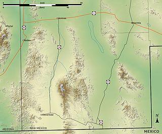 Alamo Hueco Mountains Mountain range in New Mexico, United States