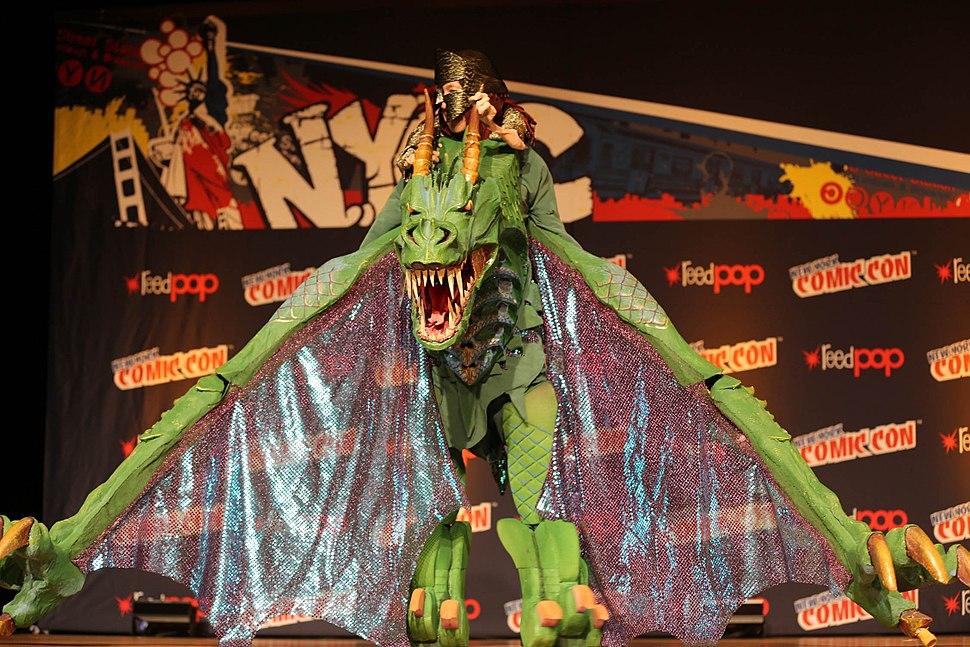 New York Comic Con 2014 - Dragon Rider (15335764989)