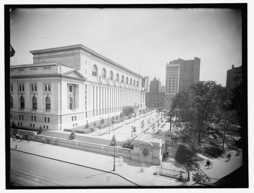 New York Public Library 1910